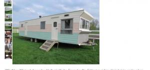 Vintage Time Capsule Rollohome Mobile Home Trailer Sale