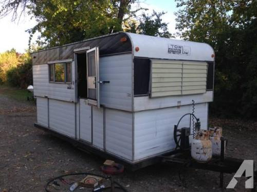 Vintage Tow Low Camper Hard Side Popup Sale Oshkosh