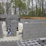 Virginia Modular Homes Concrete Block Foundation