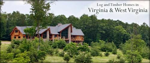 Virginia West Log Homes Timber Frame