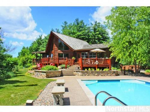 Waconia Log Home Sale