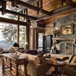 Wade Studio Interior Design Photography Luxury Handcrafted Log Home