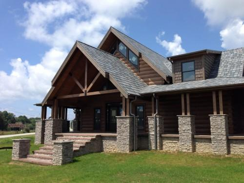 Want Your Log Cabin Timber Frame Home Look