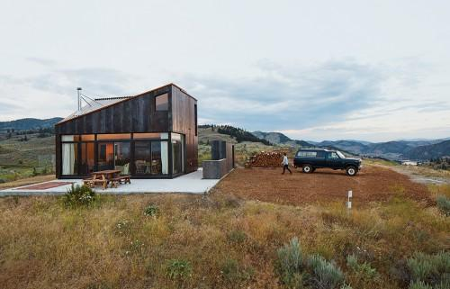 Washington Vacation Home References Its Rugged Surroundings Steel