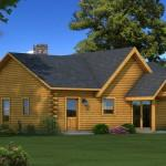 Wateree Log Home Plan