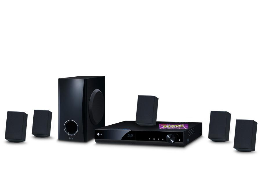 Watts Blu Ray Home Theatre System