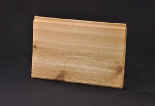 Western Red Cedar Tongue Groove Paneling Front