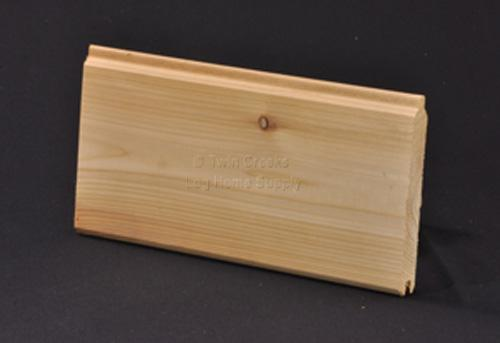 Western Red Cedar Tongue Groove Paneling Smooth Front