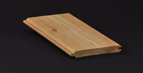 Western Red Cedar Tongue Groove Paneling Smooth Side