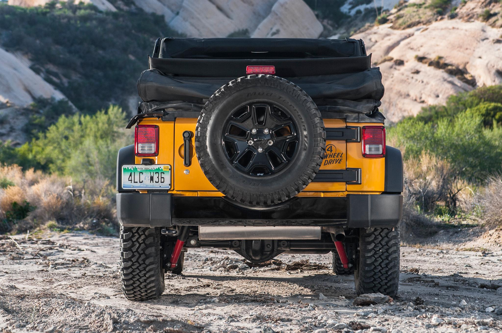 Wheeler Willy Jeep Wrangler Unlimited