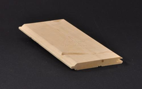White Pine Tongue Groove Paneling Profile