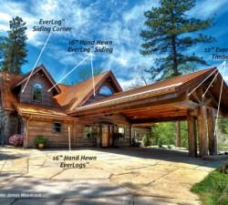 Log Homes Pictures