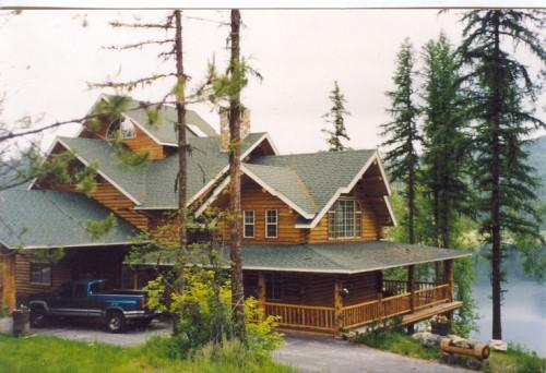 Wilderness Building Systems Log Home