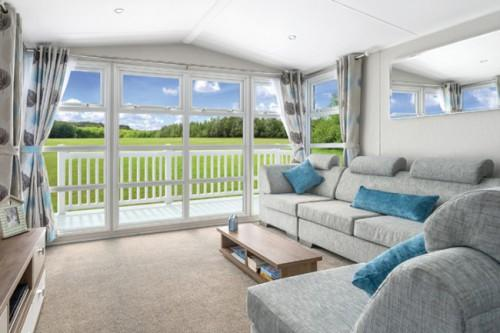 Willerby Skyline Mobile Holiday Home Bedroom