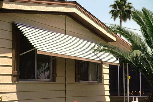 Window Awnings Mobile Homes