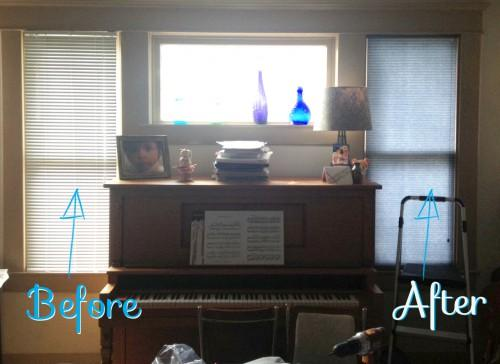 Window Blinds Mobile Home