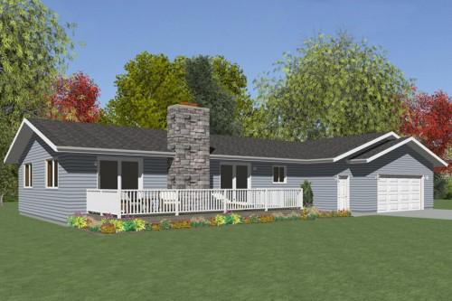 Wisconsin Homes Cottage Series Model Brookdale
