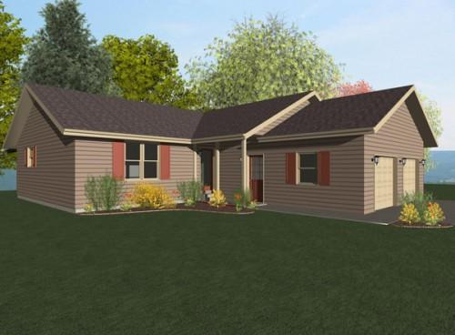 Wisconsin Homes Cottage Series Model Northwood