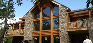 Wood Design Classic Log Home Custom