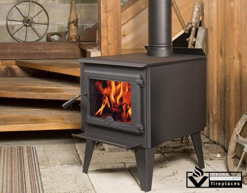 Wood Stove Pacific Energy Equipped Non Catalytic