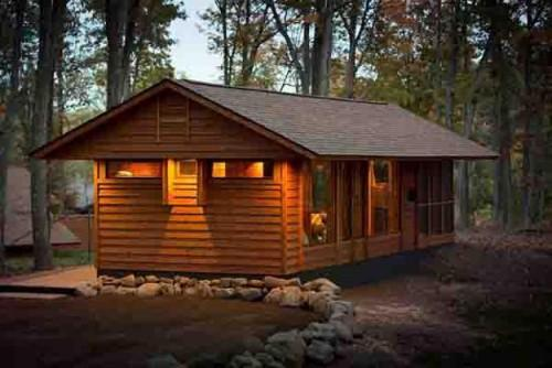 Wooden House Exterior Design Small Eco Homes
