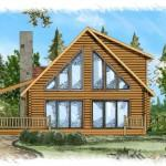 Woodland Log Homes Cabins Home Floor Plans Wisconsin