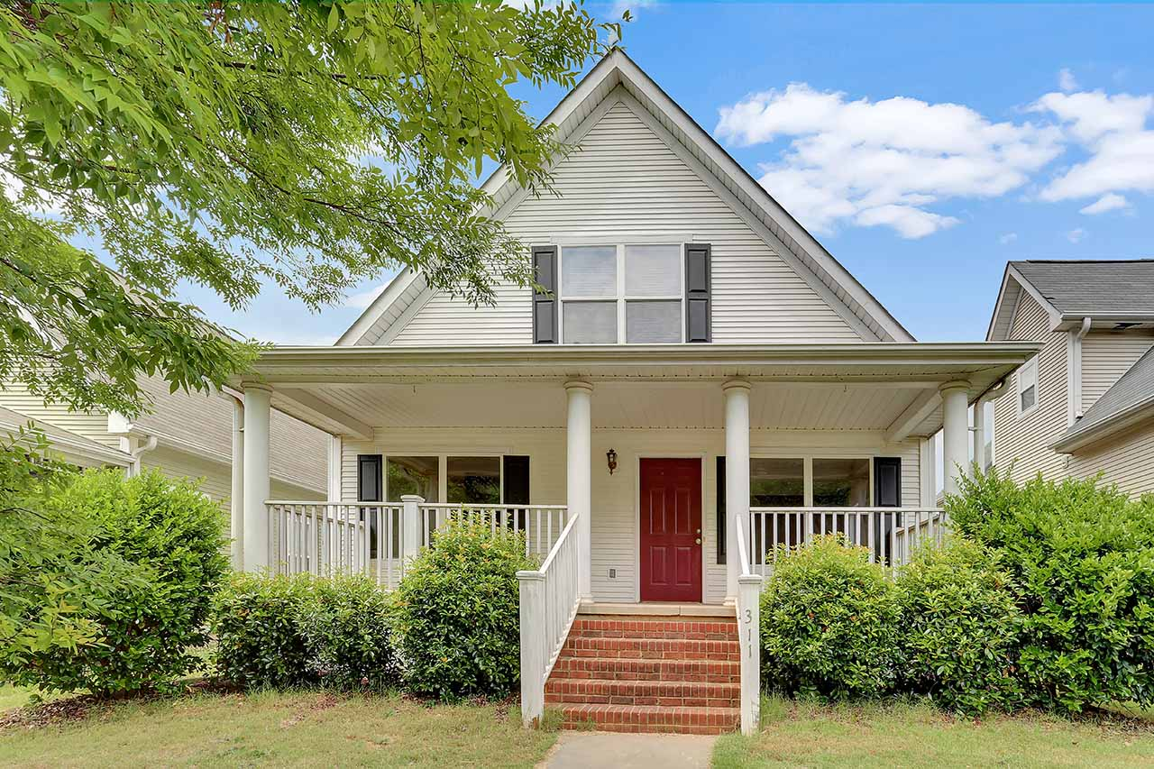 Woodlark Street Greenville Arcadia Hills Homes
