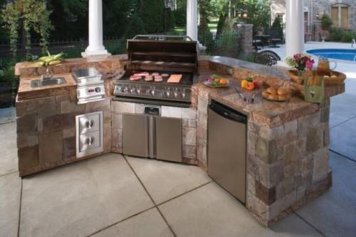 Your Own Prefab Outdoor Kitchens Precast Concrete Kitchen