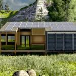 Zero Prefab Home Combines Passivhaus Solar Flexible Green